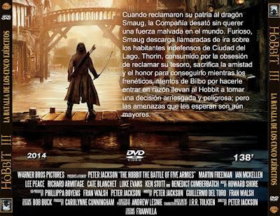 El Hobbit III - La batalla de los cinco ejércitos - [2014]