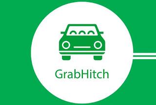 Grab hitch car
