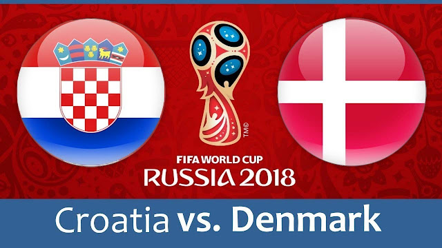 Croatia vs Denmark Full Match Replay 01 July 2018