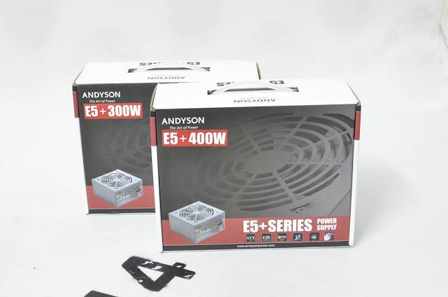 Andyson E5+ 300W -Passive PFC Single Rail True Power 2
