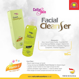 collaskin facial cleanser COFC Nasa