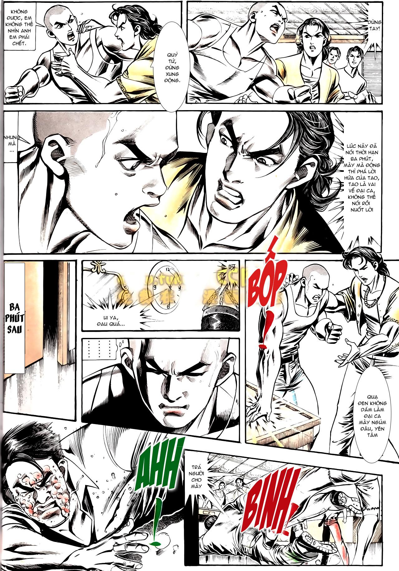 Người Trong Giang Hồ chapter 164: hạo nam chiến quạ đen trang 25