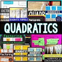 Quadratic Functions Bundle