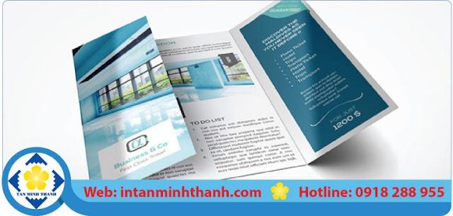 thiết kế mẫu in brochure