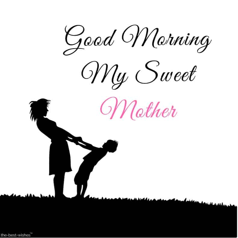 good morning my sweet mother pictures