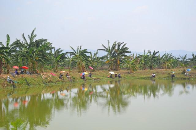 Wisata Kayen Pati Pemancingan Ikan Talun
