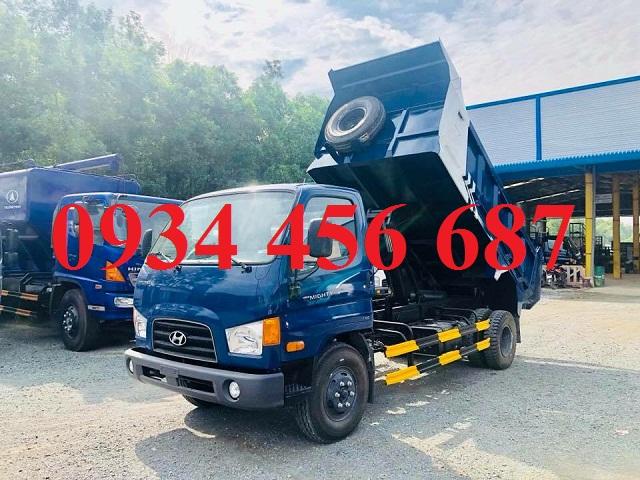 Giá xe ben Hyundai 110s 6 tấn