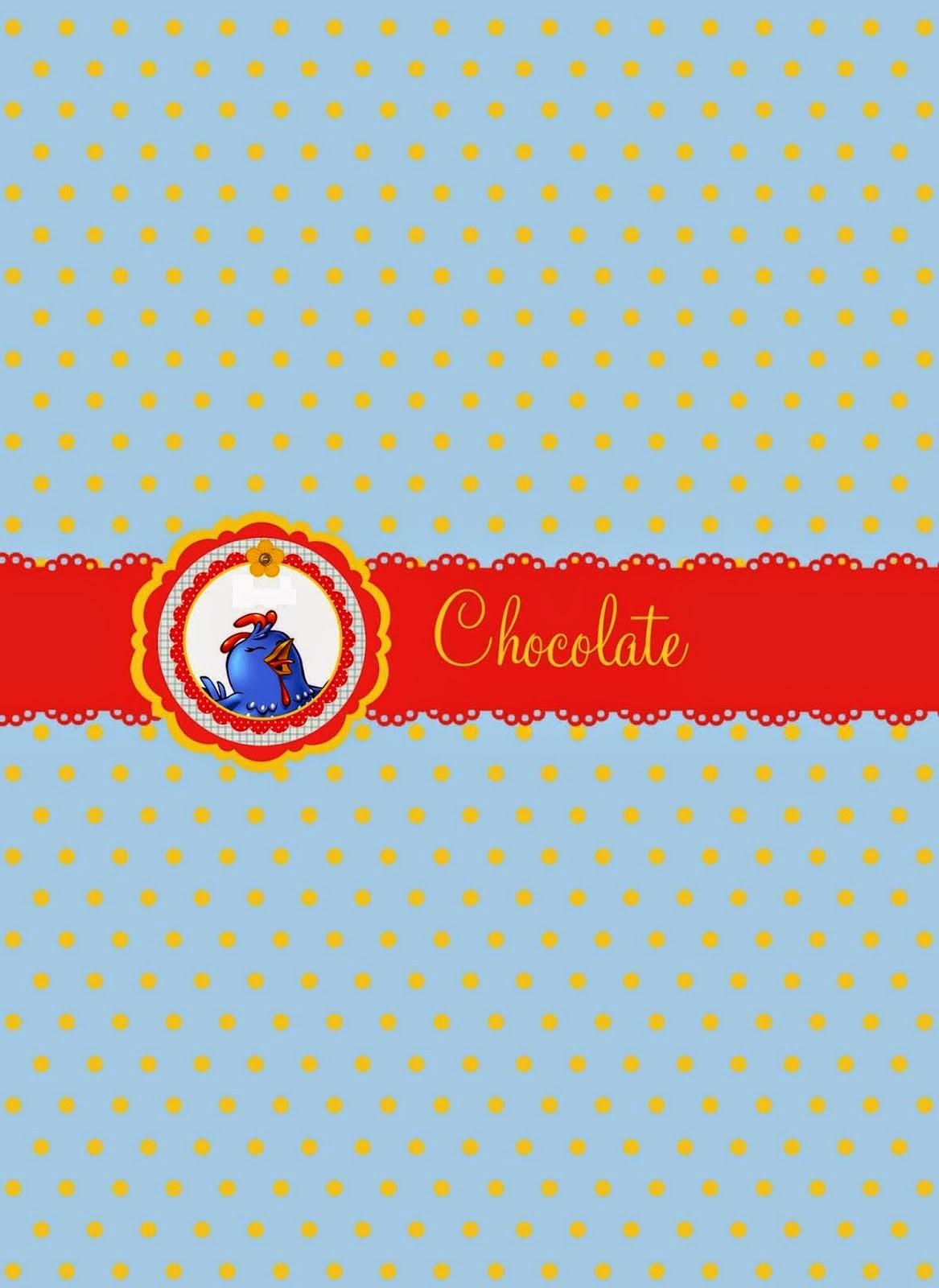 Lottie Dottie Chicken: Free Party Printables