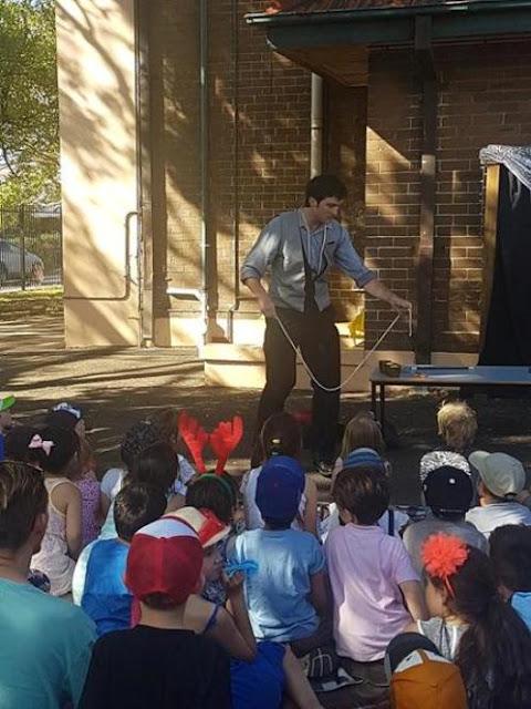 kids magician Sydney