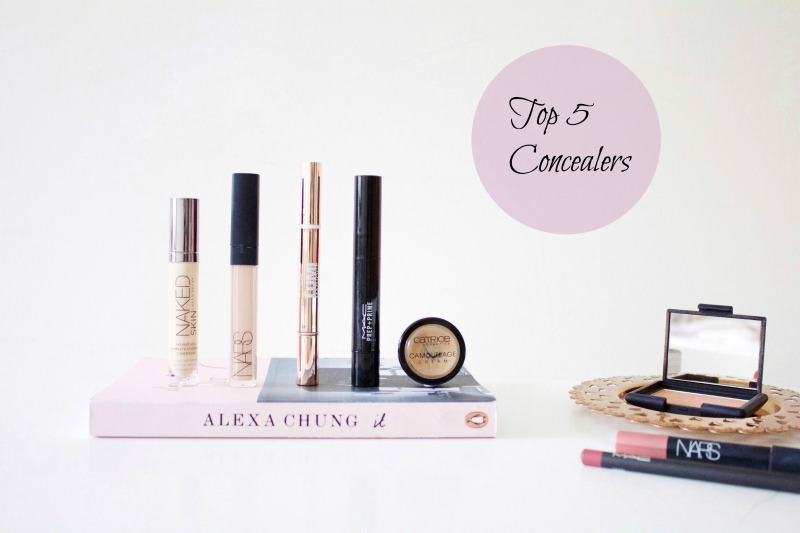 Top 5 Concealers Blog Post