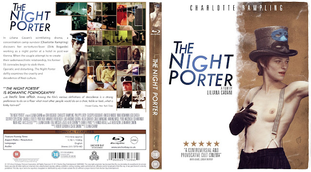 The Night Porter (Il portiere di notte) Bluray Cover