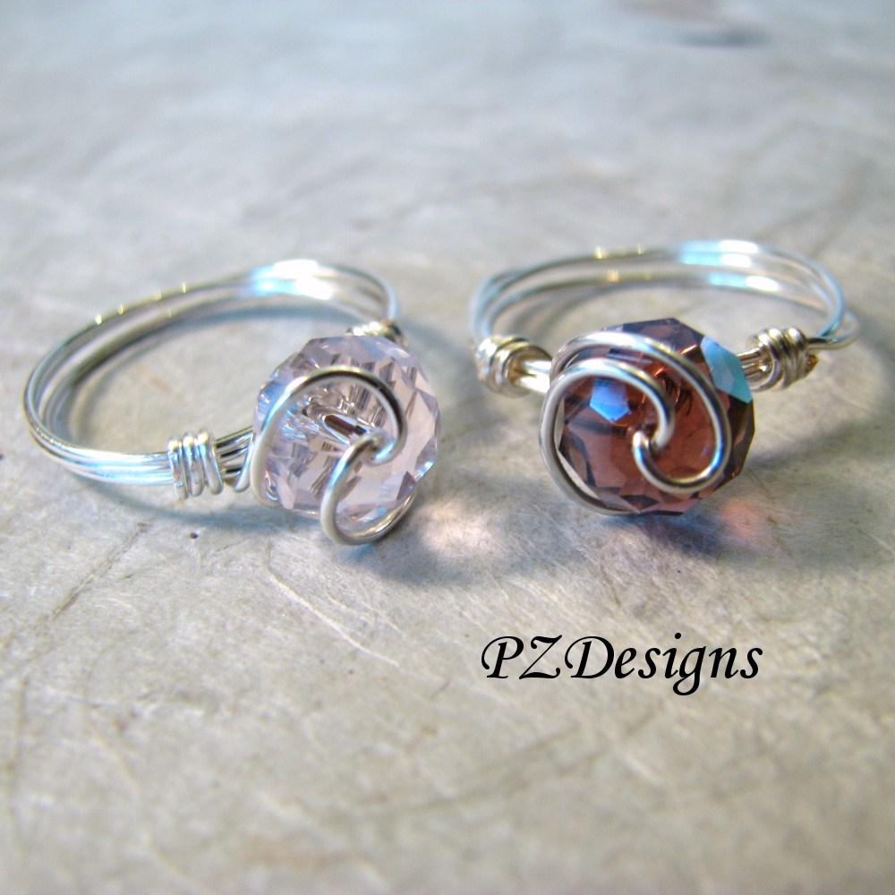 Top Silver Serpent Studio's Blog: DIY: Simple Wire-Wrapped Ring Tutorials KN18