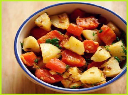 सादा गाजर आलू की सब्जी बनाने की विधि | Aloo Gajar Recipe in Hindi