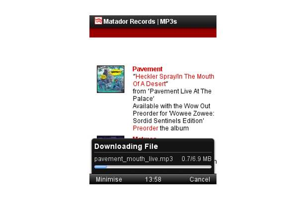 Opera Mini 7 1 arrives with new download manager - Technology World