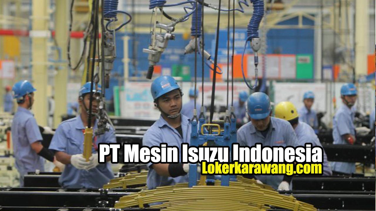 PT Mesin Isuzu Indonesia Bekasi