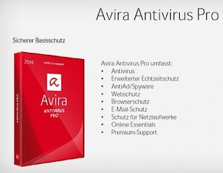 Avira AntiVirus Pro 15.0.18.354 Full terbaru