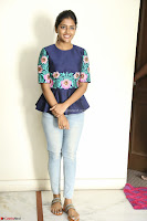 Eesha Looks super cute stunning in Denim Jeans and Top at Darsakudu movie Inerview ~  Exclusive 002.JPG