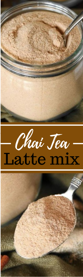 Chai Tea Latte mix #drink