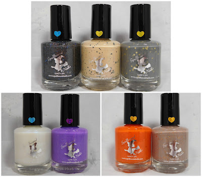 Spellbound Nails Harry Potter 3 collection