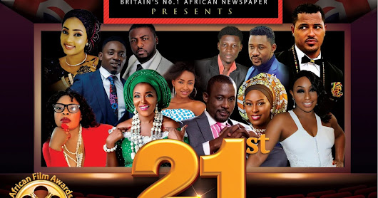 Press release: 21st AFRICAN FILM AWARDS 2017: NOMINATIONS ANNOUNCEMENT (FULL LIST OF FINALISTS)