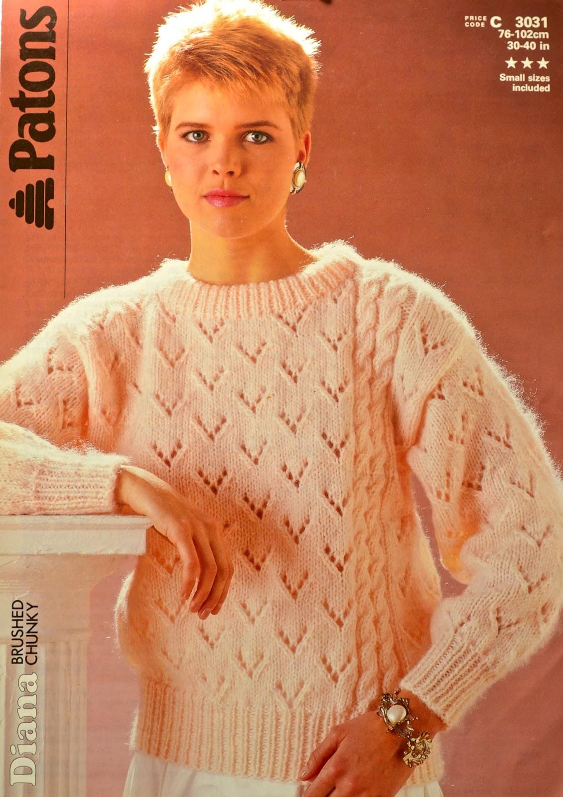 Knitting Novice: Vintage 80s Knitting Patterns - Part 3