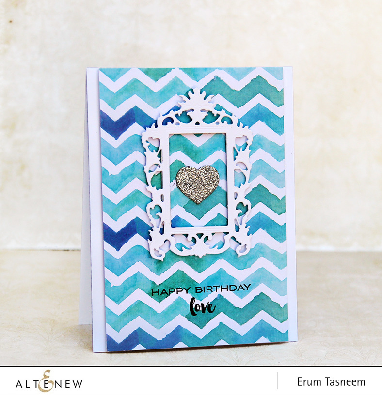 Altenew New Day Card Kit card by @pr0digy0