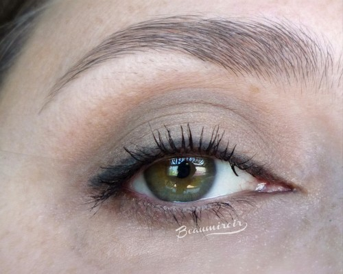 Natural eye look with tarte Star Power Double Duty palette: Ladies Night, Sparks Fly, Twilight, Stiletto