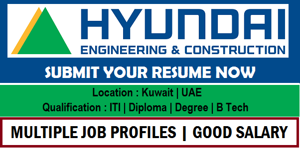 Hyundai Heavy Industries | Hyundai Engineering & Construction Job Vacancy | Vulearning Jobs