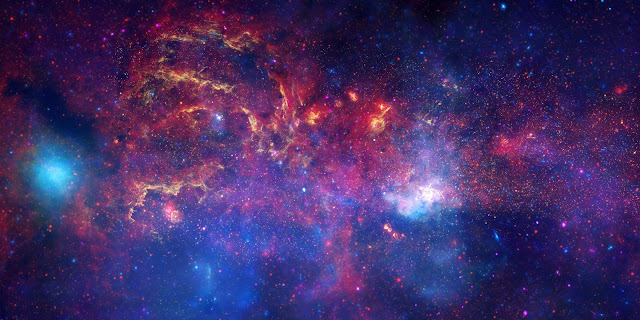 Center of the Milky Way Galaxy