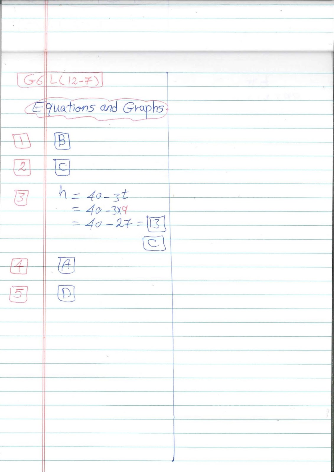 G6 Worksheets Easy Math