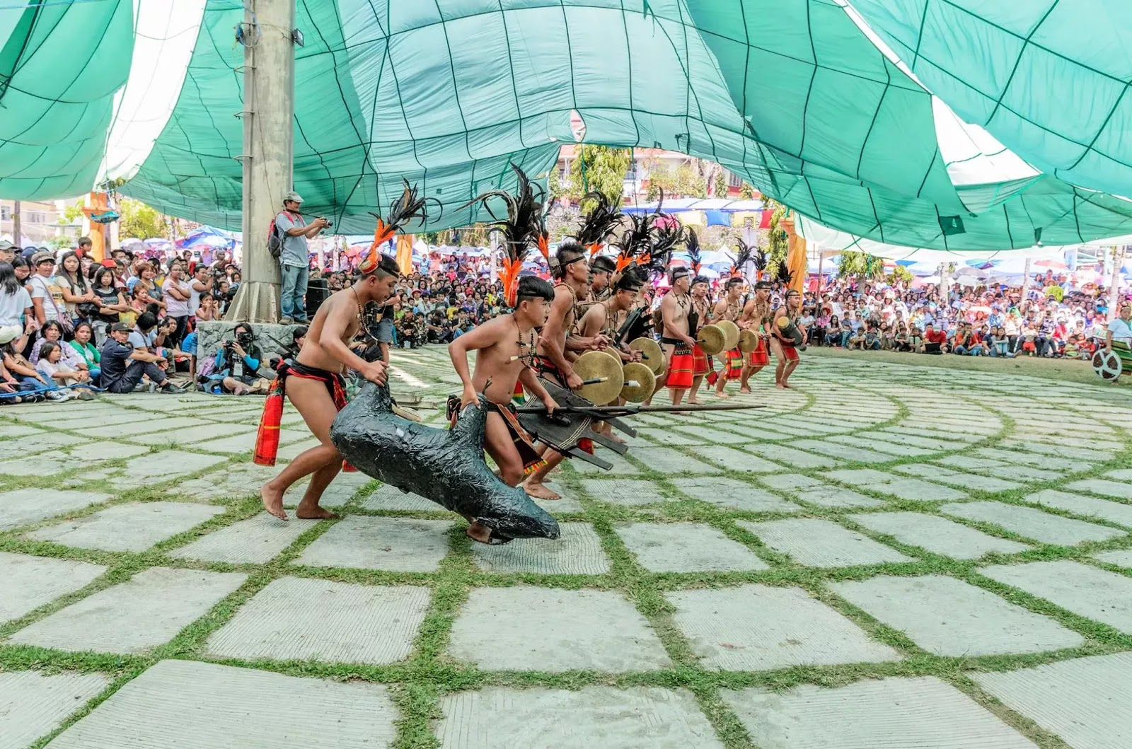Ethno-Indigenous Tribesmen 13th Lang-Ay Festival Bontoc Mountain Province Cordillera Administrative Region Philippines