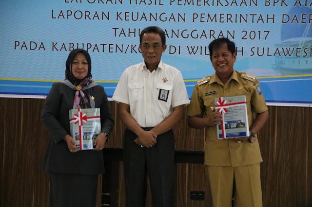 Laporan Keuangan Kabupaten Soppeng Kembali Raih WTP