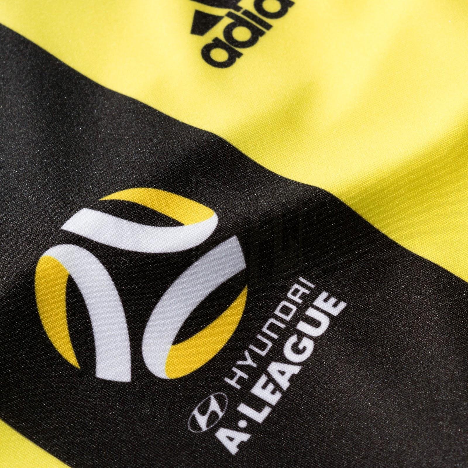... novos uniformes que serão usados durante a temporada 2017 18 do  Campeonato Australiano de futebol ( Hyundai A-League ). Fabricado pela  Adidas 4821504efd6a0