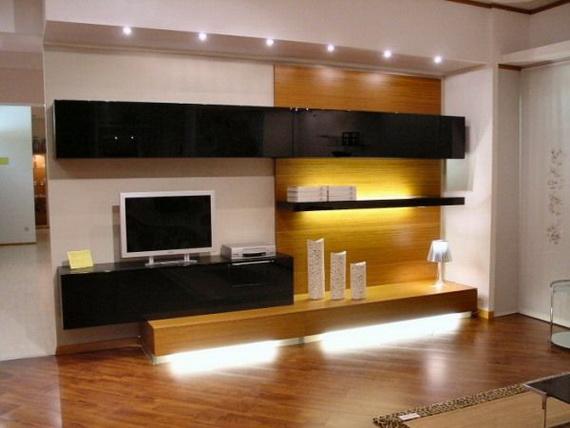 Tv Unit Decoration Ideas: Decore Criativo: Home Theater