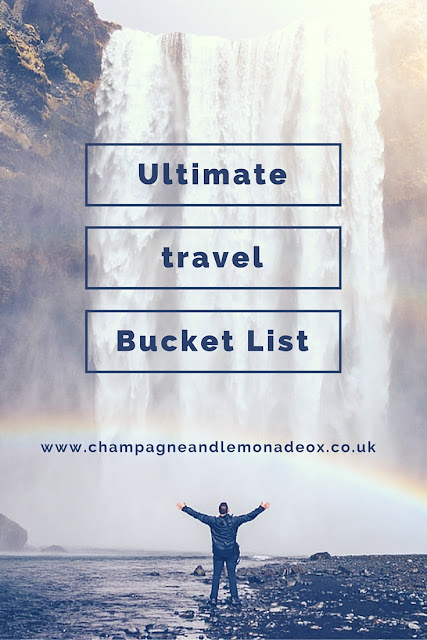 ultimate travel bucket list