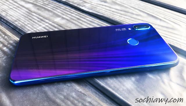 امكانيات هاتف  Huawei Nova 3i