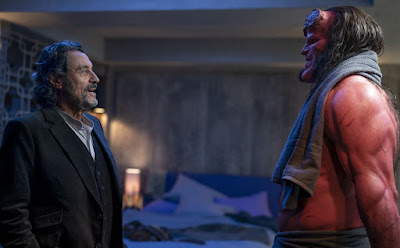 Hellboy 2019 movie still David Harbour Ian McShane