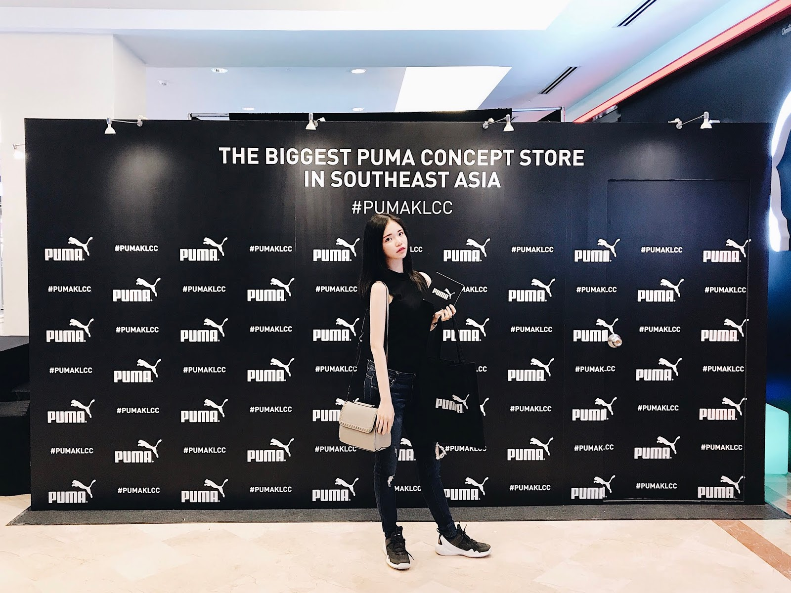 a64629bf1241 JOILYNN  Launch of the South East Asia s biggest PUMA concept store ...
