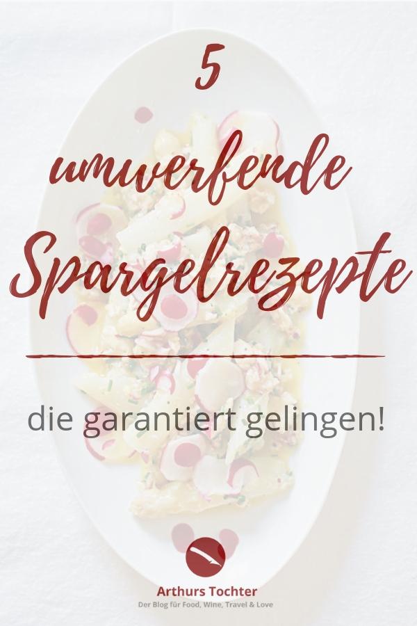 5 umwerfende und besondere Spargelrezepte, die garantiert gelingen. #spargelcremesuppe #spargel #weißer_spargel #suppe_spargel #cremesuppe #blogger #foodblogger #rezept #spargelrezepte #spargelzeit #spargelsaison #einfach #kochen | Arthurs Tochter kocht. Der Blog für Food, Wine, Travel & Love