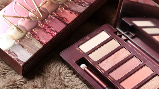 Urban Decay's Naked Cherry Palette - First Impressions + Swatches