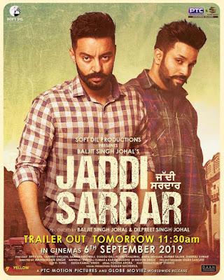 Jaddi Sardar 2019 Punjabi 480p WEB HDRip 450Mb x264