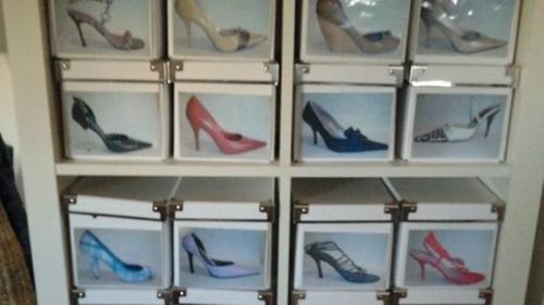 Decoraconmar a como organizar tu casa - Ideas para guardar zapatos en espacios pequenos ...