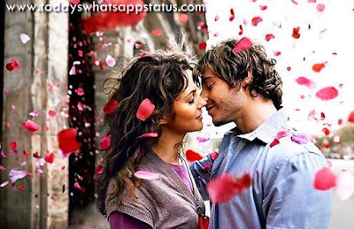 100 Cute Romantic Status in Hindi | Sweet Romantic Quotes Words
