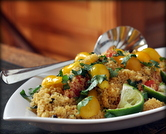 Summer Couscous with Mango & Tomato