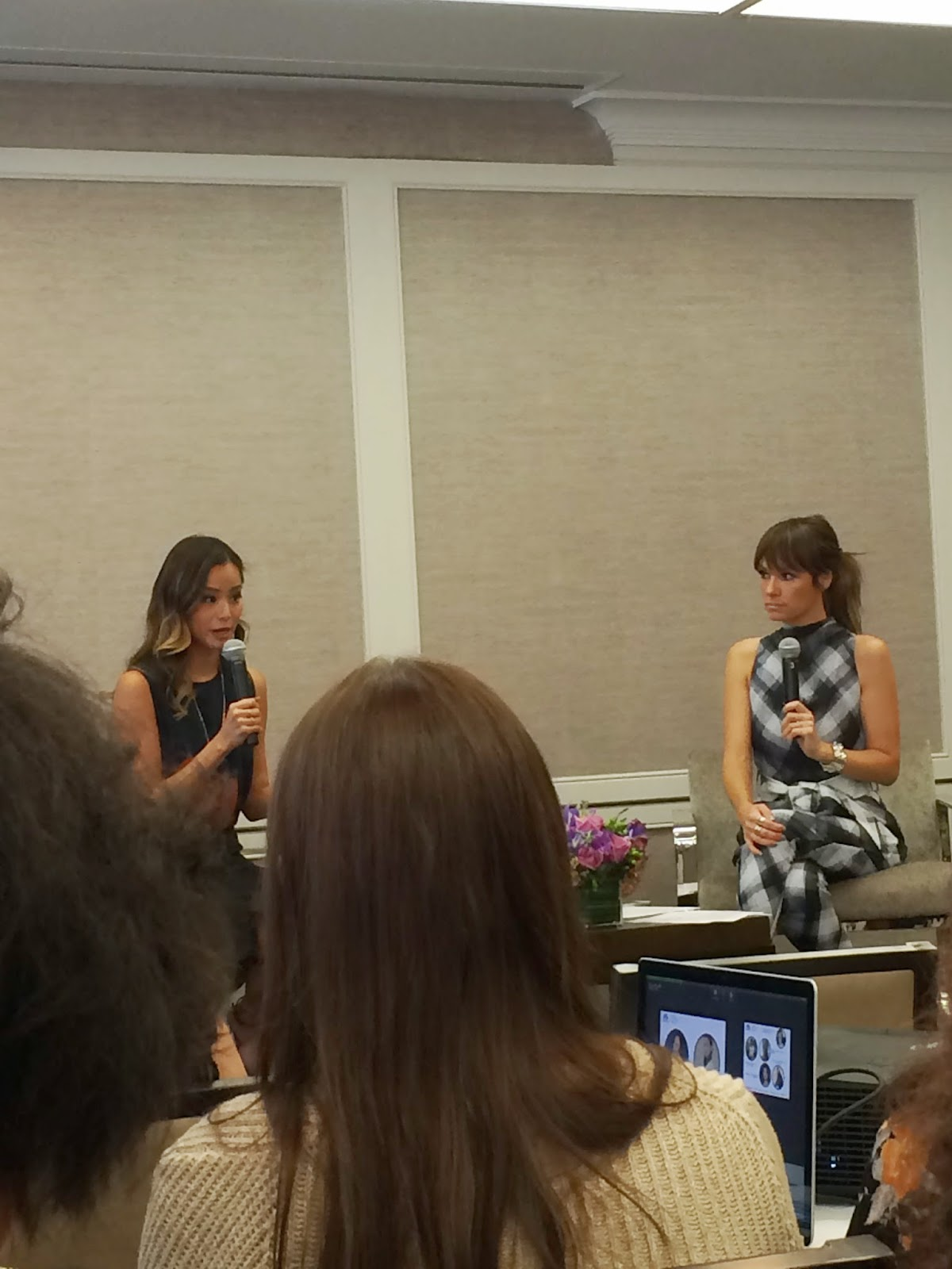 Edie's Closet, Simply Stylist New York Conference, Jamie Chung and Catt Sadler