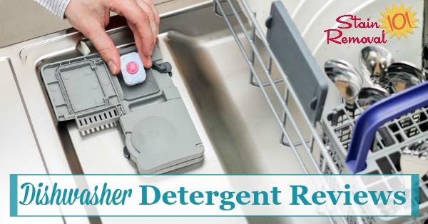 Chất tẩy rửa tốt nhất dùng cho máy rửa bát