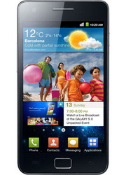 Samsung Galaxy S II GT-I9100 Android 2.3 smartphone comes with dual-core processor and Super AMOLED Plus display