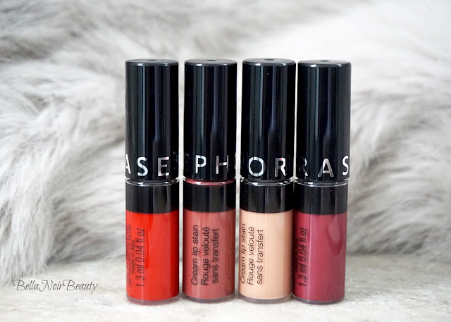 Sephora Cream Lip Stain Set | bellanoirbeauty.com