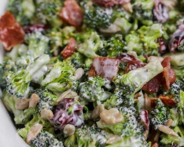 Broccoli Salad #healthy #salad