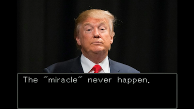 The miracle never happen Donald Trump Phoenix Wright Ace Attorney Justice For All